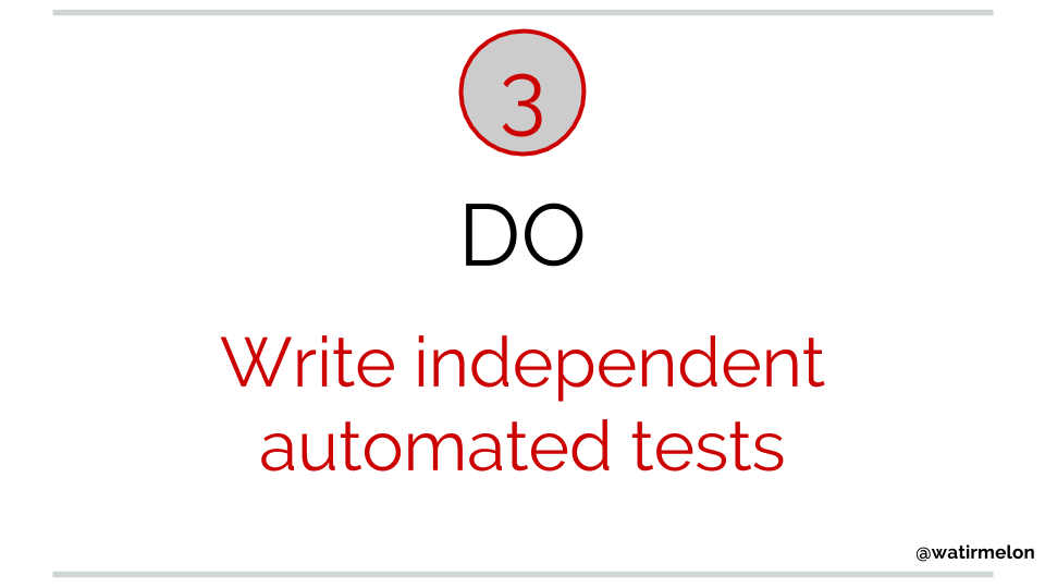 10 do's of automated acceptance testing(8)