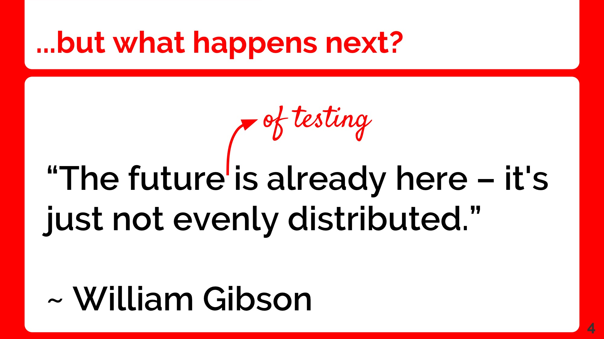 Alister Scott - The Future of Testing is Distributed FINAL(1) 04